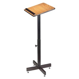 Adjustable-Height Podium Stand