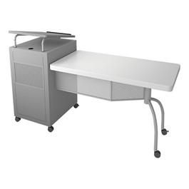 Edupod Lectern & Teacher\'s Desk Combo