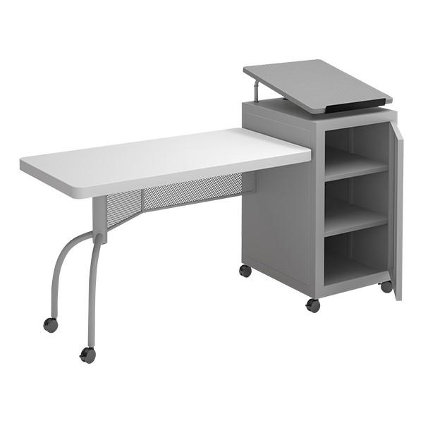 Edupod Lectern & Teacher's Desk Combo