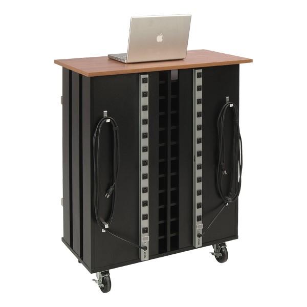Laptop Charging & Storage Cart - Back