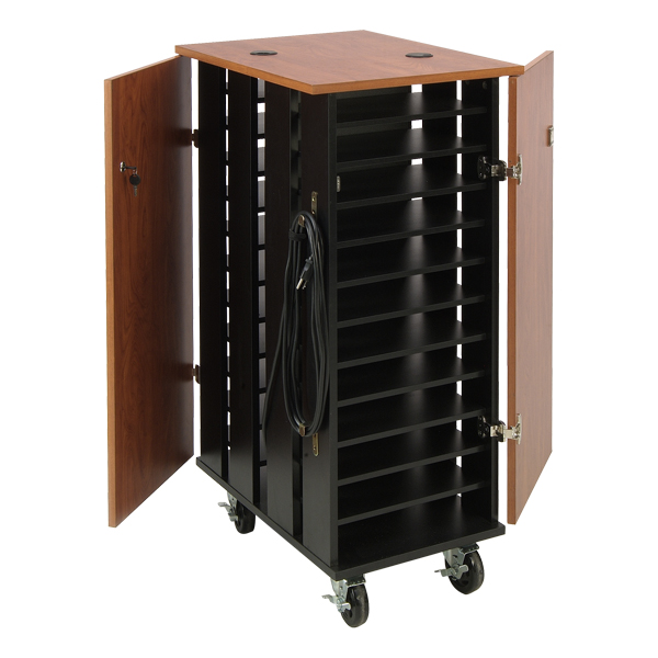 Oklahoma Sound Tablet Charging And Storage Cart