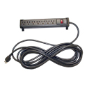 "Yes, add a 7-outlet power strip w/ 25"" cord (+$83.99 per unit)"