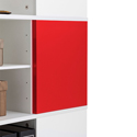 Yes, add two red magnetic panels (+$74.99 per unit)