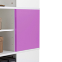 Yes, add two pink magnetic panels (+$74.99 per unit)