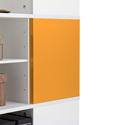 Yes, add two orange magnetic panels (+$74.99 per unit)