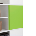 Yes, add two green magnetic panels (+$74.99 per unit)