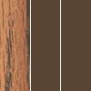 Medium Oak Top/Brown Frame/Brown Edge