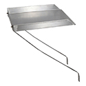 Yes, add detachable drainboard (+$128.99 per unit)