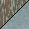 Pecan Fabric Top/Blue Vinyl Sides