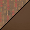 Dark Latte Fabric Top/Chocolate Vinyl Sides
