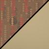 Dark Latte Fabric Top/Sand Vinyl Sides
