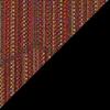 Brick Fabric Top/Black Vinyl Sides