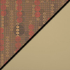 Dark Latte Fabric Top/Sand Vinyl Sides
