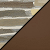 Desert Fabric Top/Chocolate Vinyl Sides