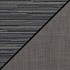 Pepper Fabric Top/Gray Vinyl Sides