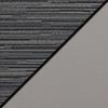 Pepper Fabric/Light Gray Vinyl