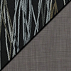 Peppercorn Fabric Top/Gray Vinyl Sides