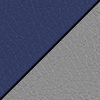 Navy Smooth Grain/Light Gray Back