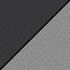 Black Smooth Grain/Light Gray Back