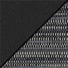 Black Smoothgrain/Pepper Fabric Back