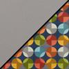 Light Gray Smoothgrain/Compass Fabric Back