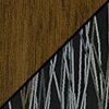 Walnut w/ Peppercorn Fabric
