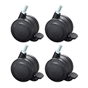 Hard Floor Casters - set of 4 (+$21.99 per unit)