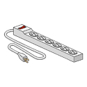 Yes, add one 6-Outlet Power Strip  (+$28.99 per unit)