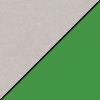 Gray Nebula Top/Green Edge Band