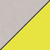 Gray Nebula Top/Yellow Edge Band