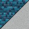 Ocean Sedona Fabric / Gray Frame