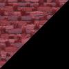 Ruby Sedona Fabric / Black Frame