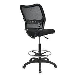 Air Grid Back Drafting Chair - Back view