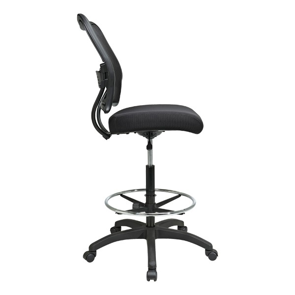 Air Grid Back Drafting Chair - Side view