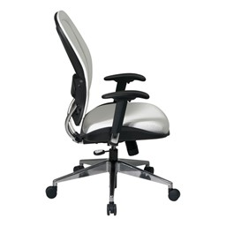 Deluxe Vinyl Manager's Chair - Side view