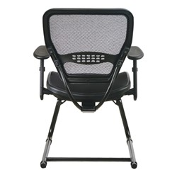 Air Grid Deluxe Guest Chair - Back view