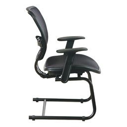 Air Grid Deluxe Guest Chair - Side view