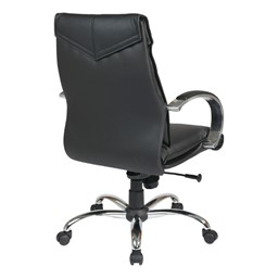 Deluxe Executive Chair - Mid Back - Back view