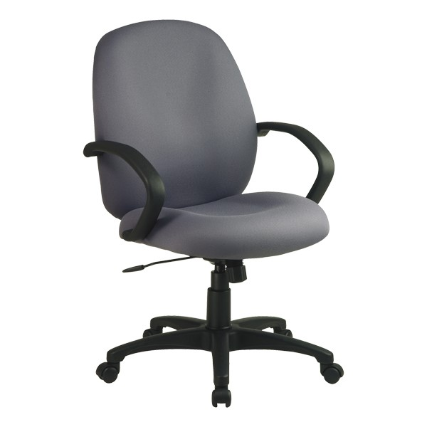 Work Smart Multi-Function Manager Office Chair - Mid Back