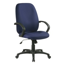 Work Smart Multi-Function Manager Office Chair - High Back