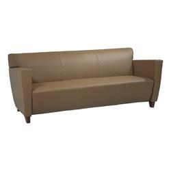 SL 8000 Series Leather Sofa - Taupe leather