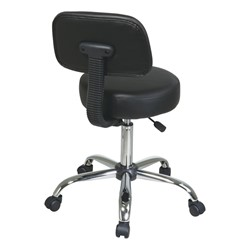 Work Smart Drafting Stool - Back view