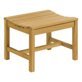 Oxford Backless Wood Bench (2\' L)