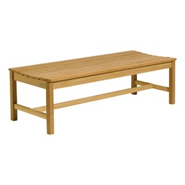 Oxford Backless Wood Bench (5\' L)