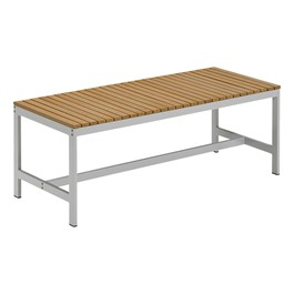Travira Backless Outdoor Bench