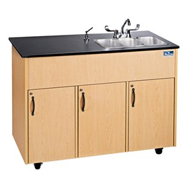Advantage Series Portable Modular Sink - Three Basins