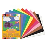"SunWorks Construction Paper (9"" W x 12"" L) - Assorted Colors"