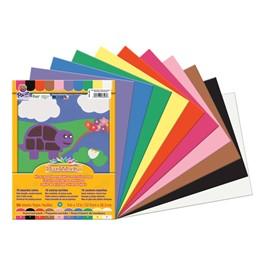 "SunWorks Construction Paper (9\"" W x 12\"" L) - Assorted Colors"