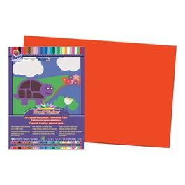 "SunWorks Construction Paper (12\"" W x 18\"" L) - Orange"