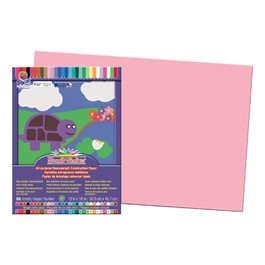 "SunWorks Construction Paper (12\"" W x 18\"" L) - Pink"